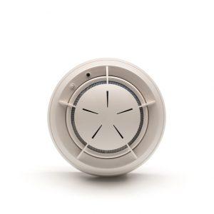 detector óptico autónomo de humos